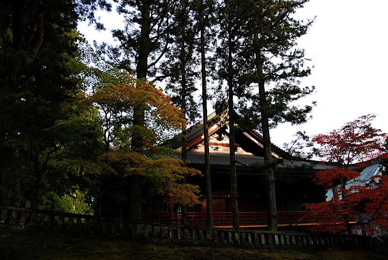 A minor shrine in Rinnoji Temple area of Nikko