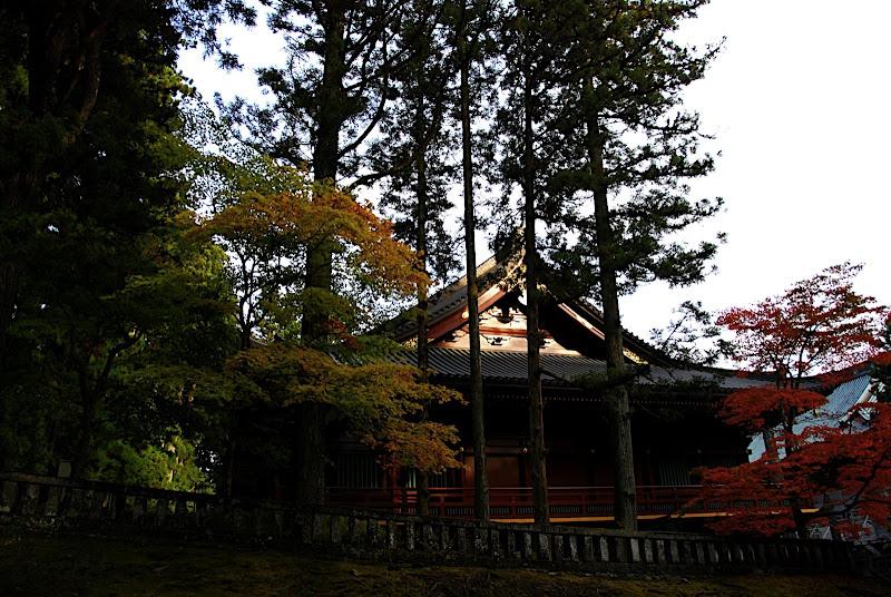 A minor shrine in Rinnoji Temple area of Nikko