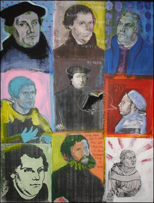 Martin Luther by Daryn Kinney