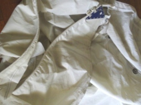Old Boat sail waiting for recycling reformation Regatta Bags