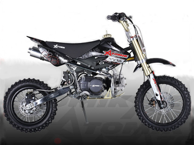 125cc BSE Pit Bike Black