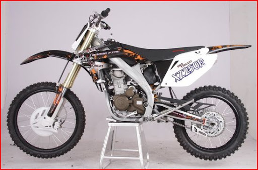 250cc Crossfire XZ250R Watercooled Dirt Bike