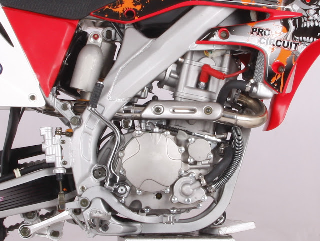 250cc Crossfire XZ250R Dirt Bike Watercooled OHC Overhead Cam Engine