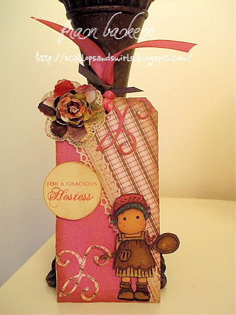 Kitchen Tilda Hostess Tag