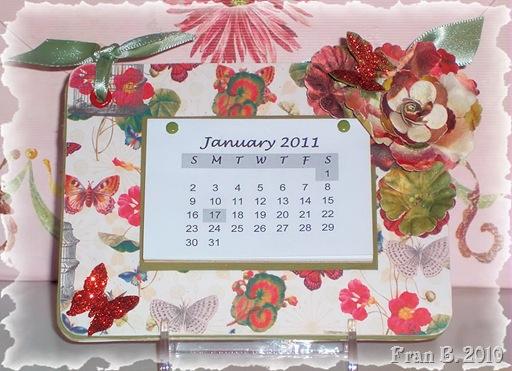 Mariposa Coaster Calendar