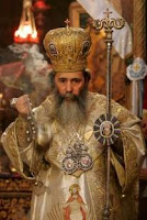 Jerusalem Patriarch Theophilos III with Censer
