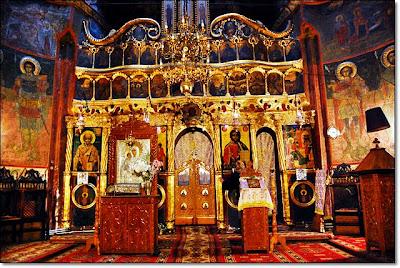 Nave and veil - Plumbuita Holy Monastery, Bucharest
