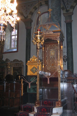 Patriarchal Chair in St. George's Cathedral, Istanbul