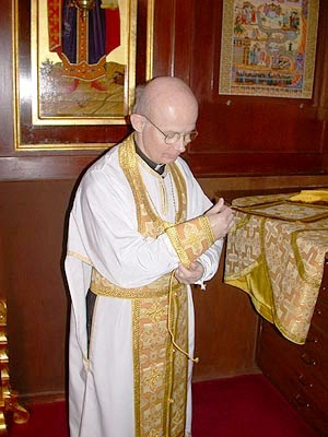 Priest of Orthodox Church in American