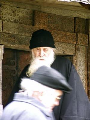 Romanian Orthodox Monk