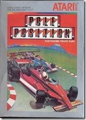 Capa de Pole Position para Atari 2600