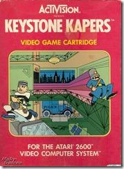 Capa de Keystone Kapers para Atari 2600