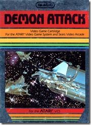 Capa de Demon Attack para Atari 2600