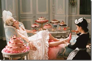 marie antoinette film still in chaise
