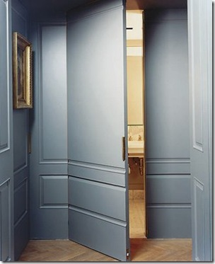 Habitually Chic concealed panel doors