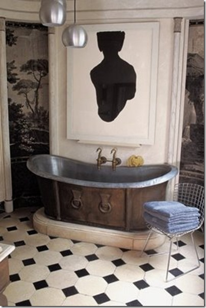 kikette interiors blog frederic mechiche paris bathroom