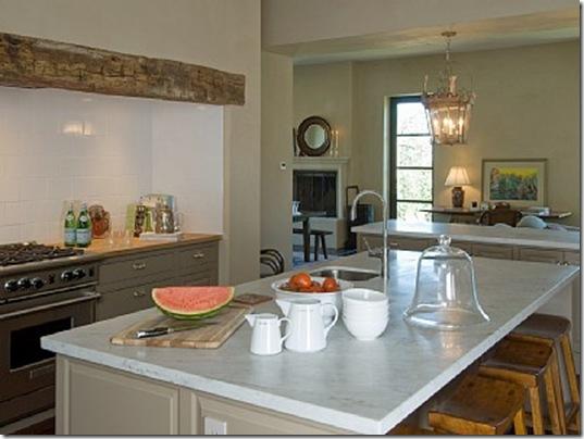 Heraldsburg Palladian villa kitchen