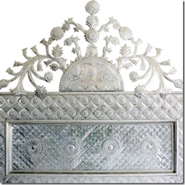 silver- casamidy headboard