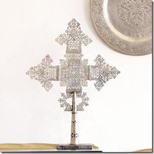 silver- wisteria ethiopian german silver coptic cross