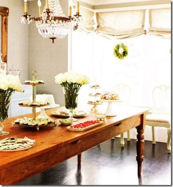 Habitually Chic tablescape