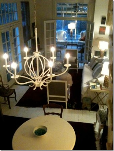 julie neill- plaster chandelier the big easy life