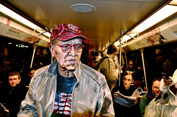 Fake Painting Photographs by Alexa Meade
