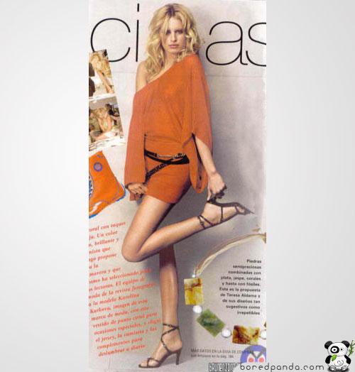 Реклама: интересные факты и необычные примеры Photoshop-mistake-leg-problem