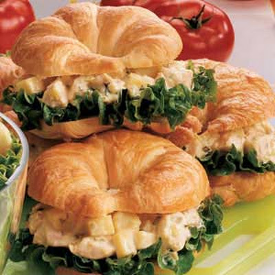 Chicken Salad Croissants