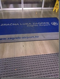 Zagreb, Croatia for the first time