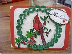 Rosie's cardinal
