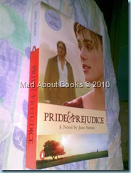 Pride and Prejudice (spine and cover)
