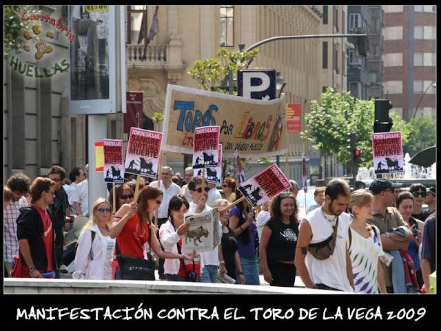 Manifestaciones contra el Toro de la Vega 2009 IMG_2346