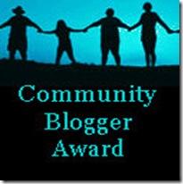CommunityBloggerAward