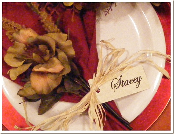 Stacey Placecard