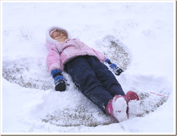 Maddy Snow Angel