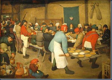 El banquete nupcial 1567-1568