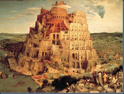 La torre de babel 1563
