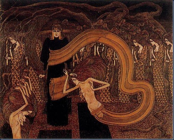 Fatalidad de Jan Toorop 1893