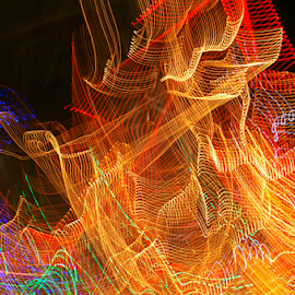 Light movements by Arvind Akki - Abstract Light Painting ( lights, abstract, forms, colours, mood, mood factory, holiday, christmas, hanukkah, red, green, artifical, lighting, colors, Kwanzaa, blue, black, celebrate, tis the season, festive )