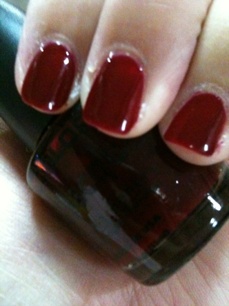 Favorite Red Nail Polish