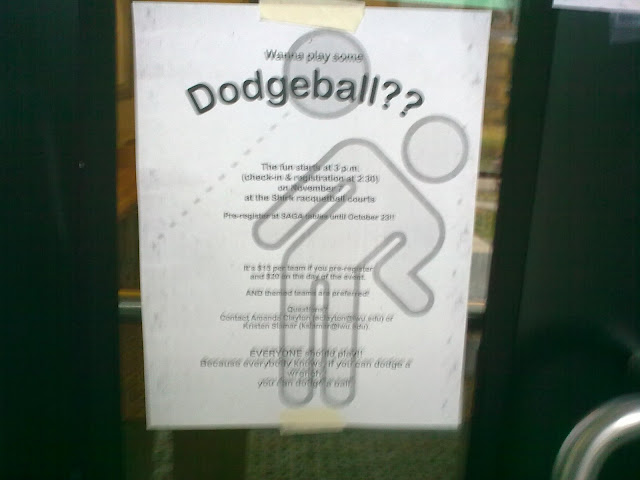 Dodgeball at IWU