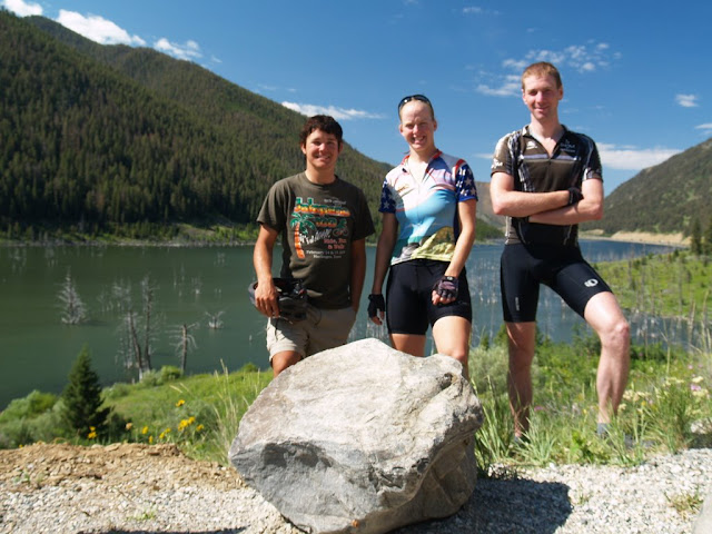 Chase, Me, and Craig at Earthquake Lake