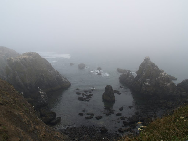 Fog on the Oregon coast