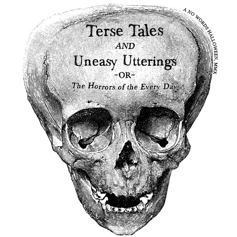 Terse Tales and Uneasy Utterings: A No Words Halloween