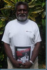 Chief Simon Gata from Leru