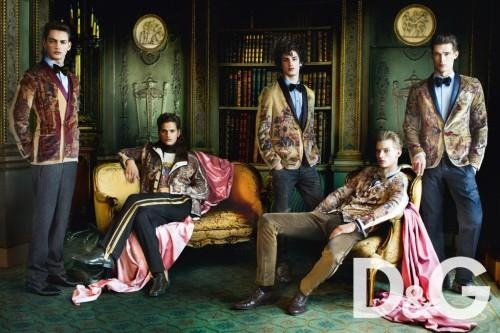 D&G Fall Winter Campaign by Mario Testino 01