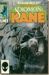 comic history - Solomon Kane 1985 Jaw