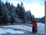 A caminho do Cerro, alguém indo esquiar