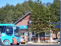 Ônibus 4x4 para cruzar a Cordilheira