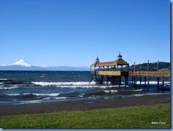 Píer no Lago Llanquihue